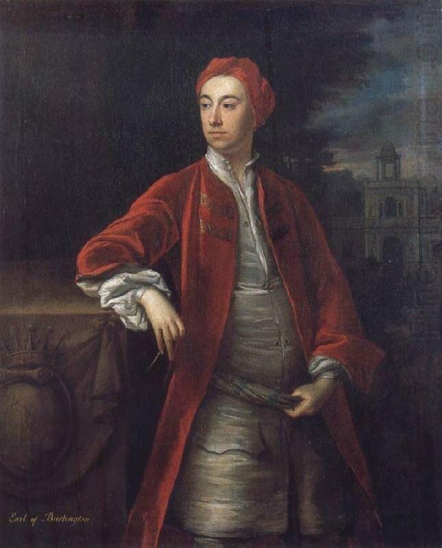 Джонатан Ричардсон. Портрет лорда Бёрлингтона