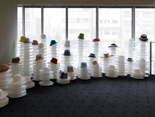 Выставка-ретроспектива Hirata Akio. Токио. Япония.