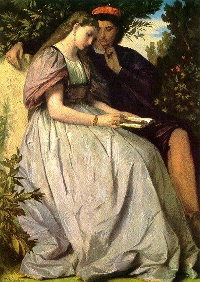 А Фейербах .Франческа и Паоло (1864г.)