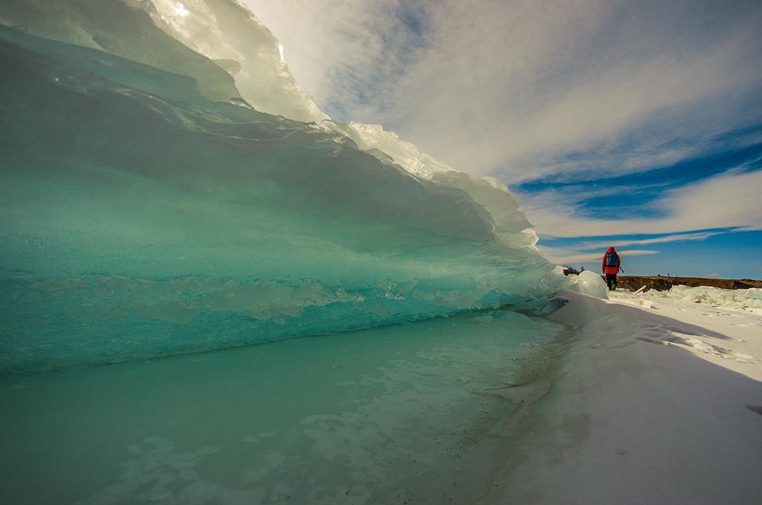 Сказочный ледяной мир