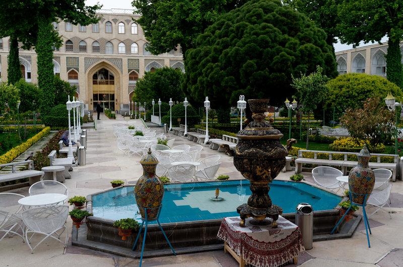 Исфахан. Отель Аббаси. 5 звезд.
