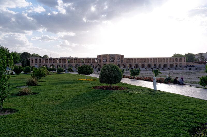 Исфахан. Мост Хаджу.
