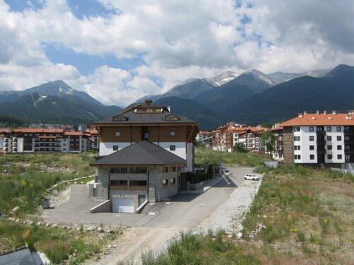 Банско вид с балкона