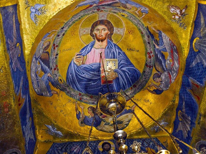 Православные монастыри, храмы, фрески, пейзажи... Обои для рабочего стола