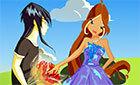 Winx игра Флора и Хелия (winx game)