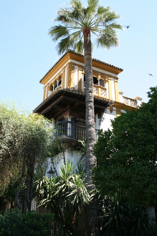 Севилья, квартал Санта Круз