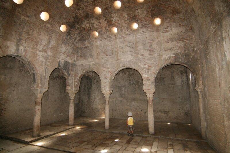 Гранада, арабские бани 11 века