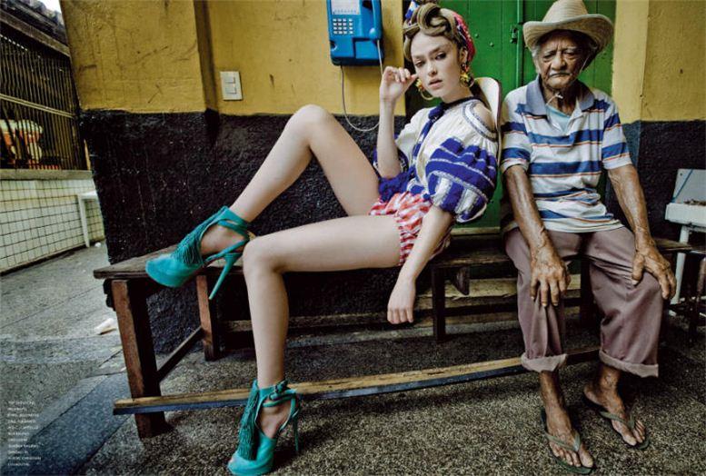 модель Софи Вламинг / Sophie Vlaming, фотограф Jean-Francois Campos
