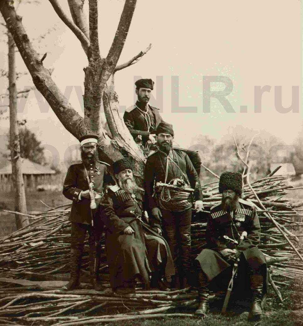 1878  горцы и русские Кавказ