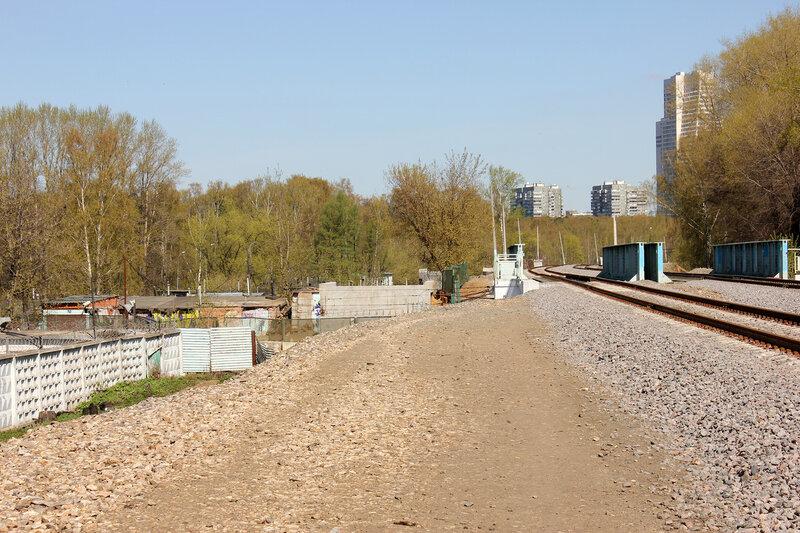 Мост МОЖД через Рижский ход
