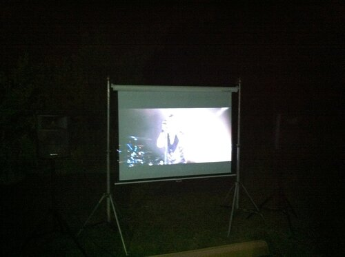3D кинотеатр на улице