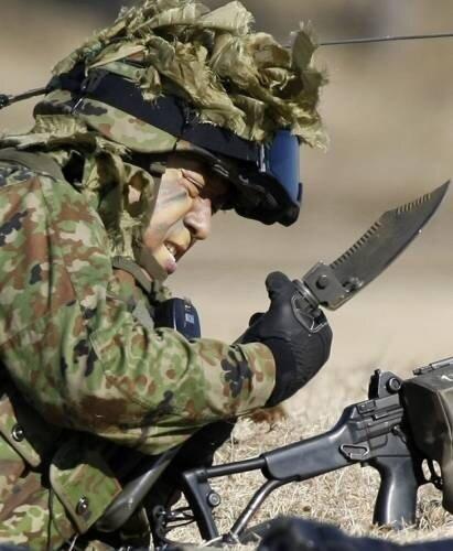 Японский солдат.