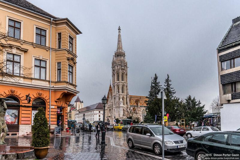 Будапешт. Буда - Верхний город