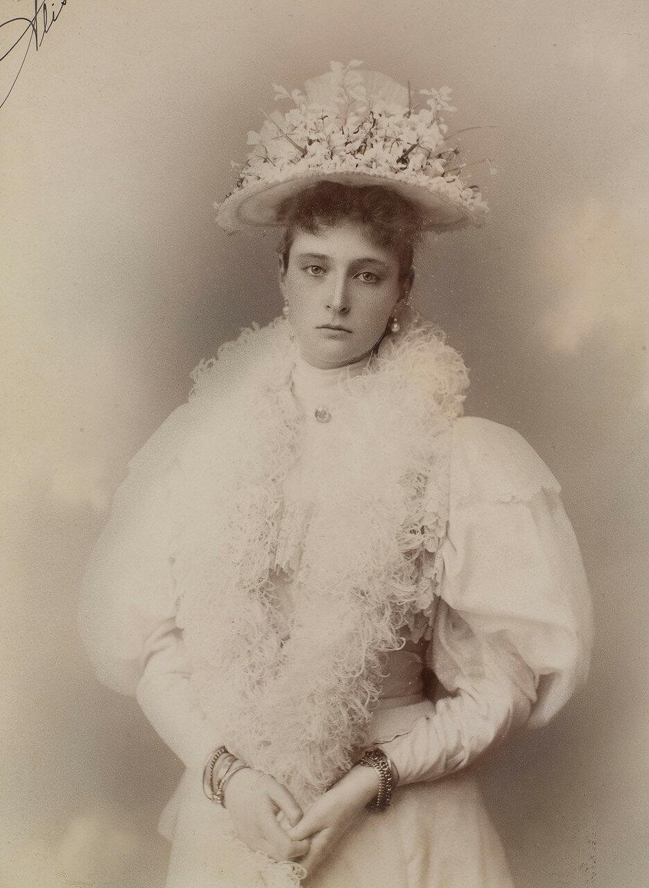 1895. Александра Федоровна
