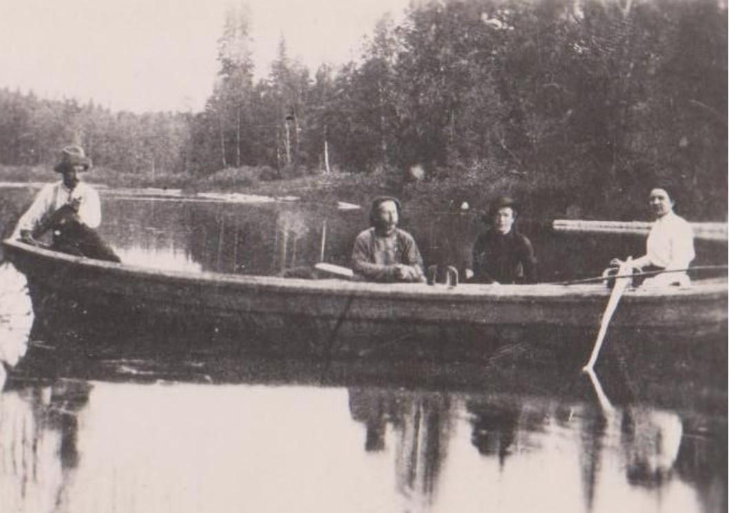 Политссыльные на Хайн-озере