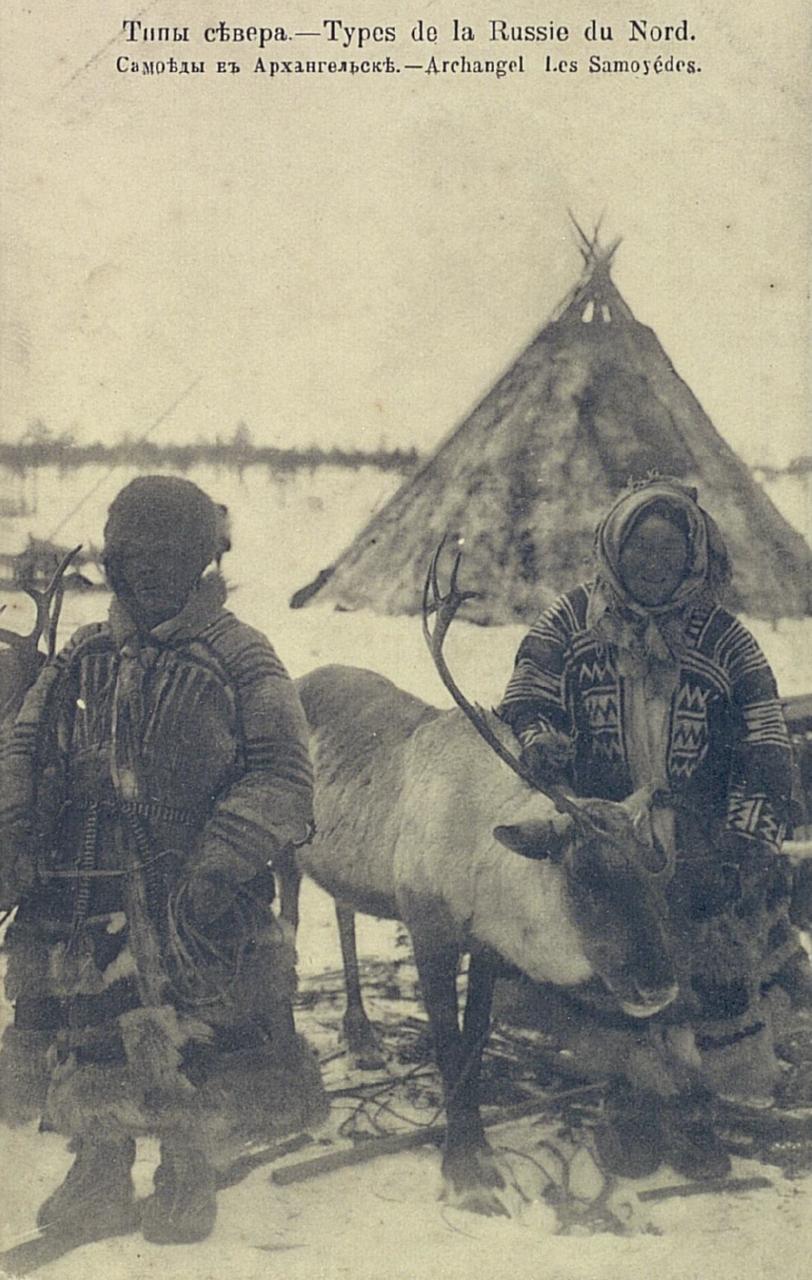 Типы севера. Самоеды в Архангельске