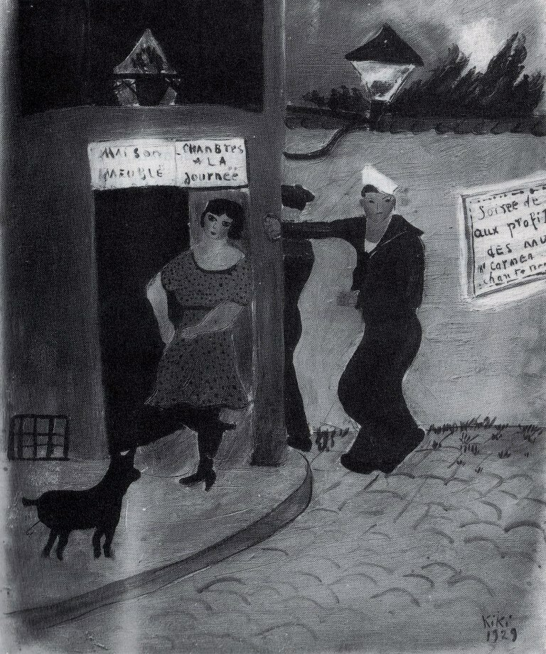 1920-е. Проститутка и моряки