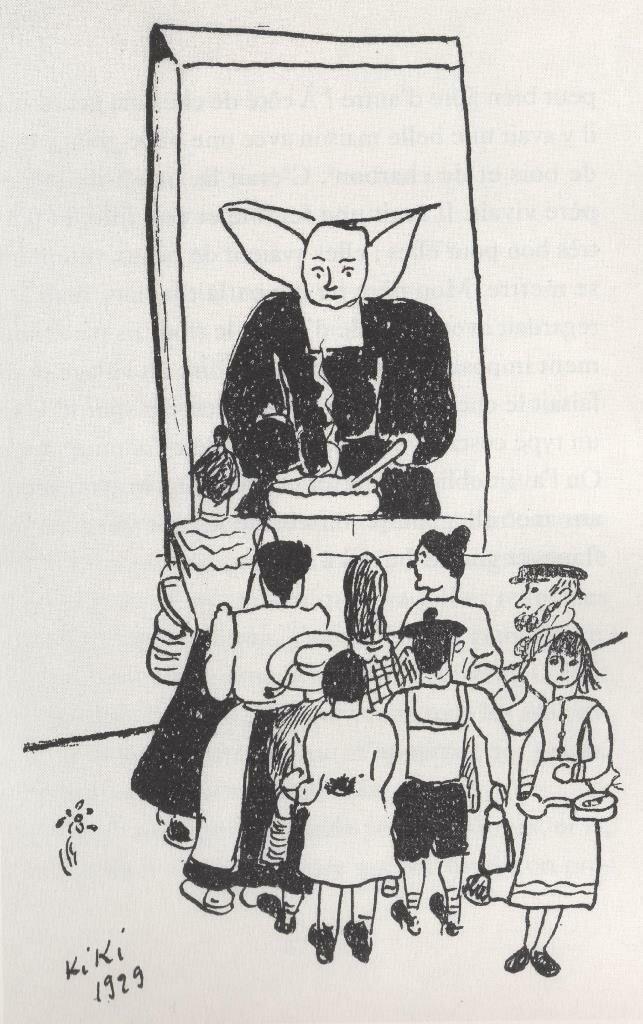 1929. Монахиня Корнет