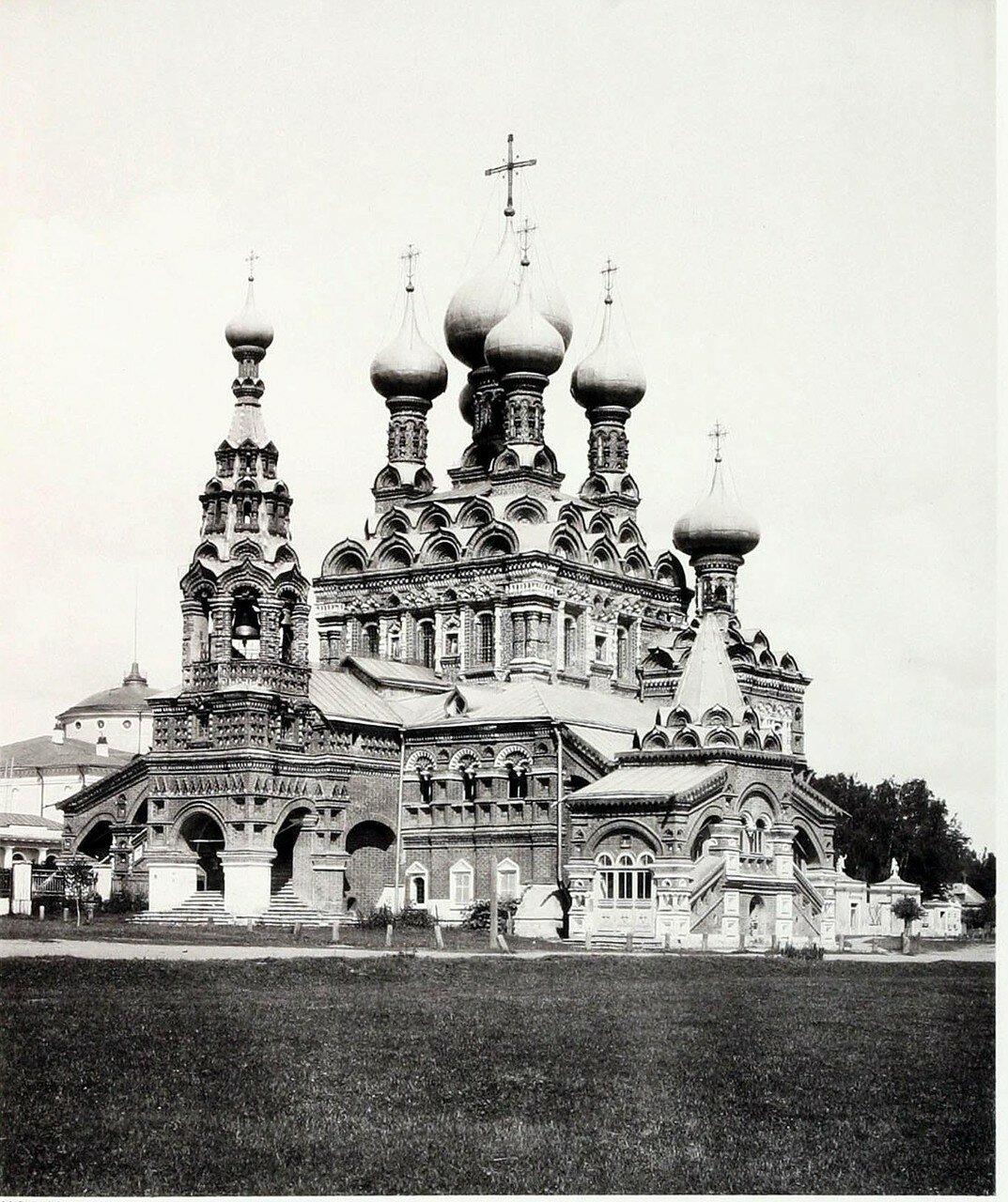 442. Окрестности Москвы. Церковь Святой Троицы в Останкино