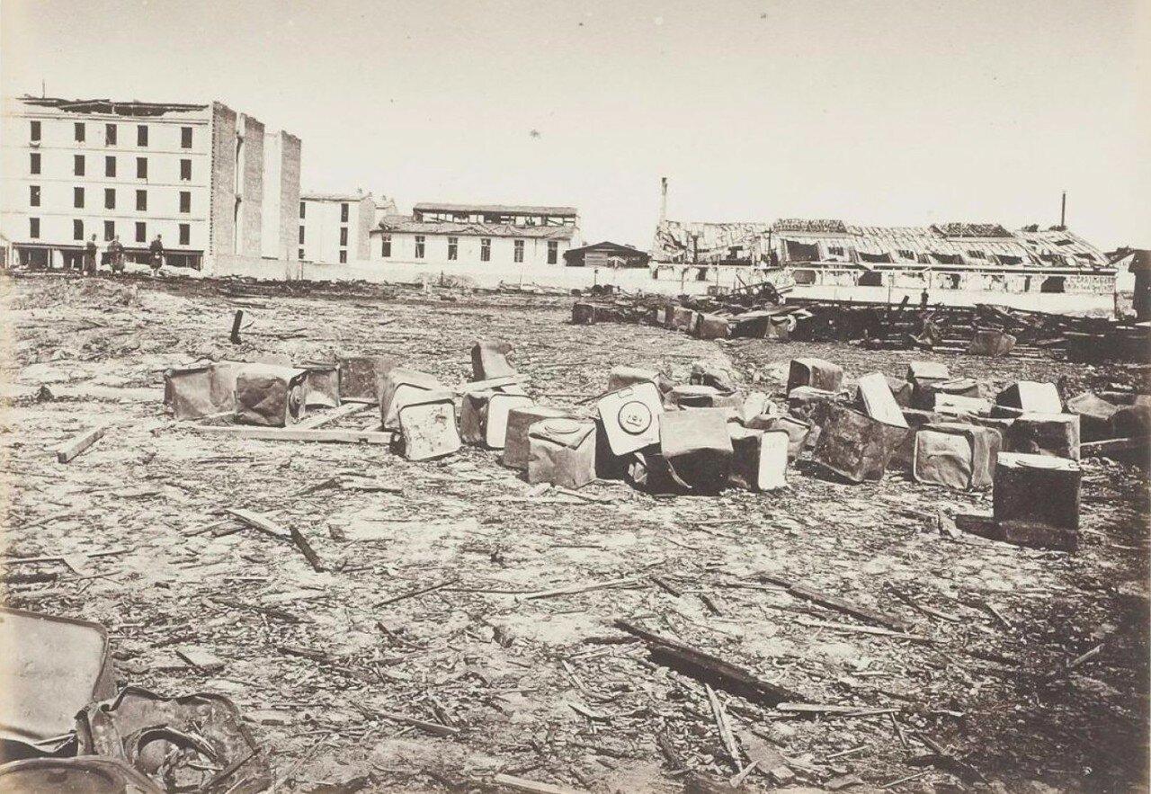 1871. Патронный завод Раппа после взрыва во время Парижской Коммуны