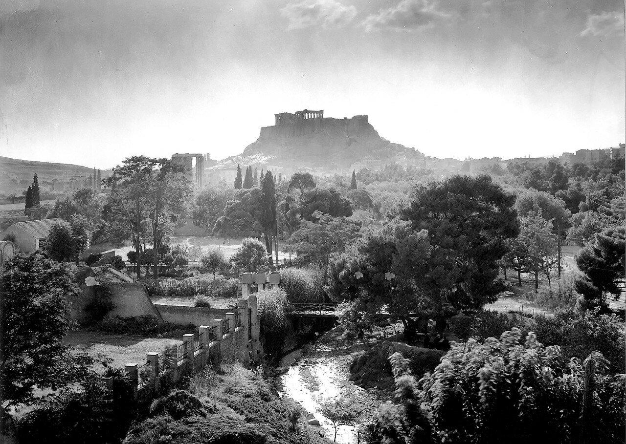 1910. Вид на Акрополь