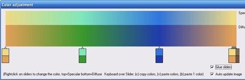 Интерфейс программы Mandelbulb 3D
