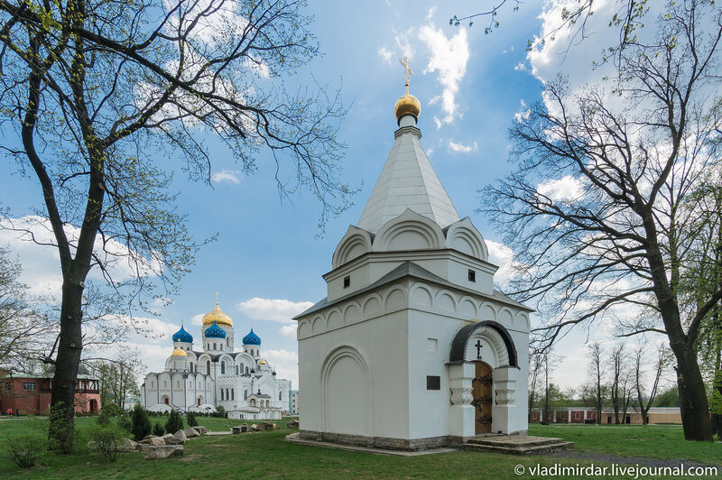 Храм-часовня Страстей Господних в Николо-Угрешском монастыре