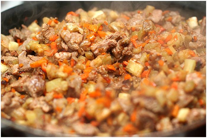 мясо в армянском лаваше фото рецепт