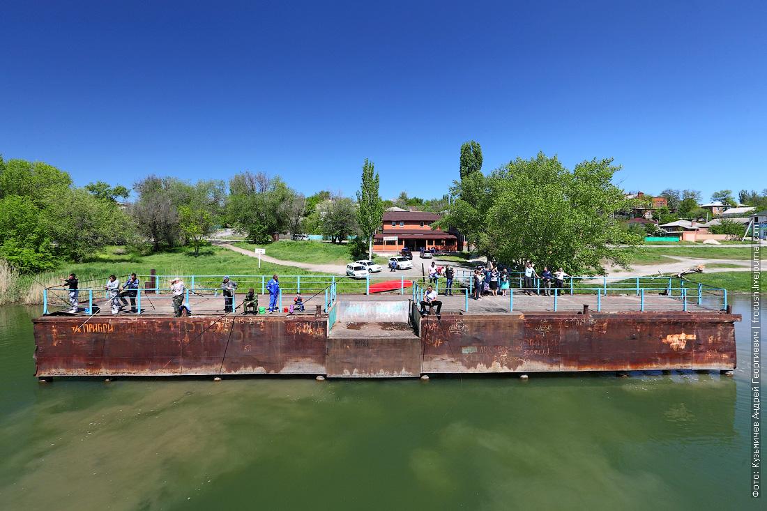 Пристань Константиновск