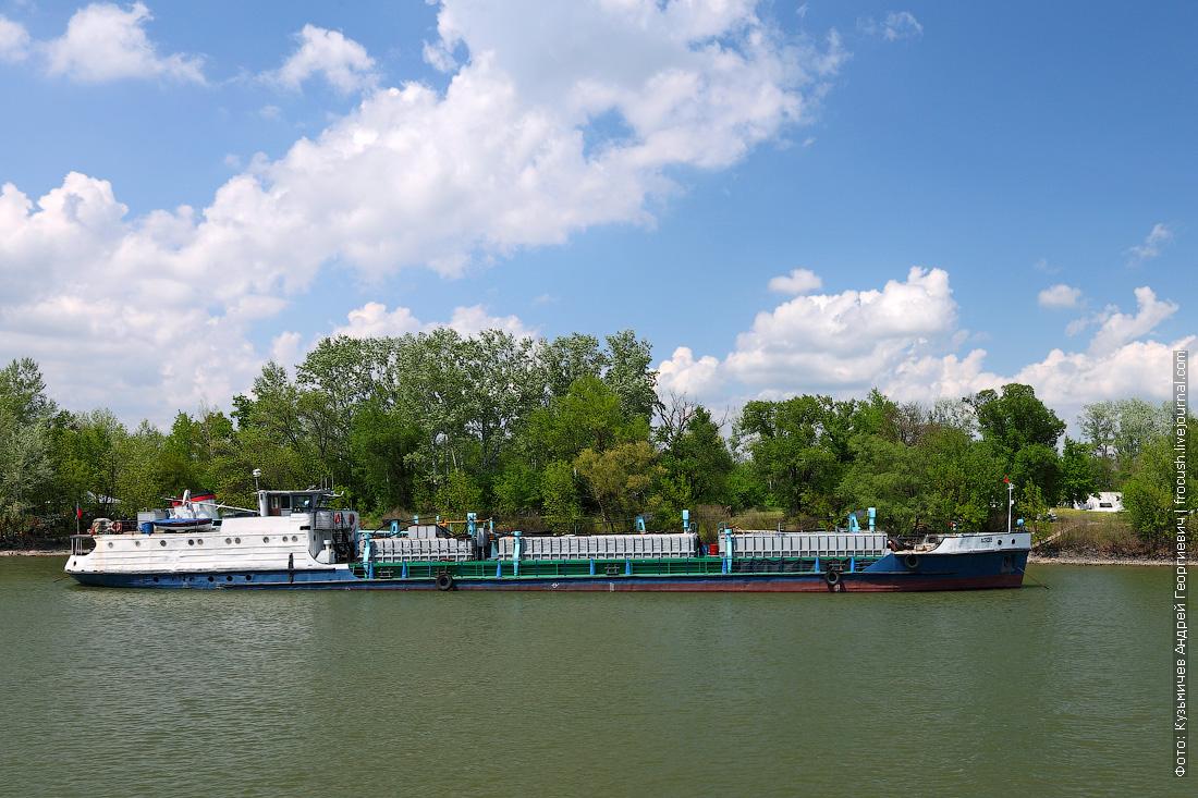4 мая 2014 года, 13:44. Дон. Наливной танкер «Азов» (1963 года постройки)