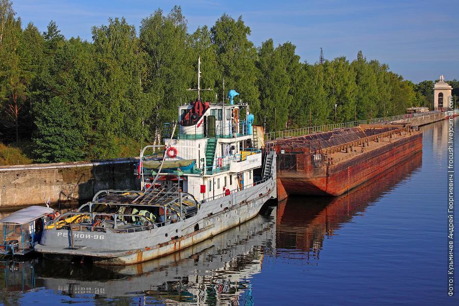 Буксир-толкач «Речной-96»