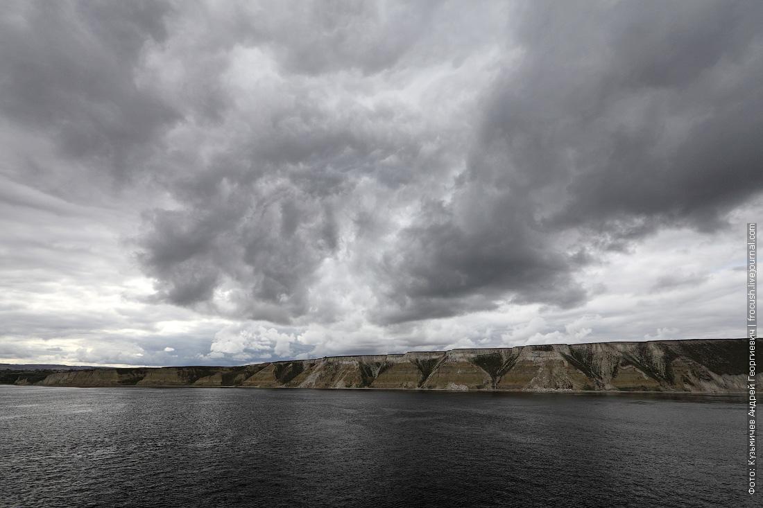 правый берег Волгоградского водохранилища