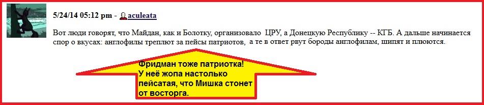 Фридман, Жопа, Пейсатая, Украина, Выборы