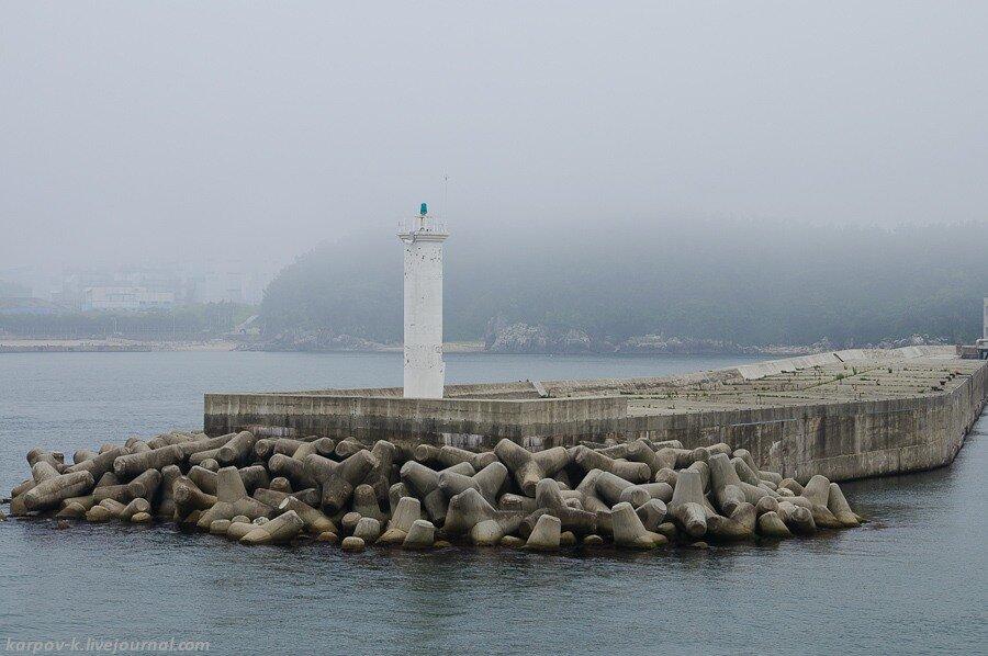 Поездка в Корею. ч.2 - паром и приход в Донгхэ