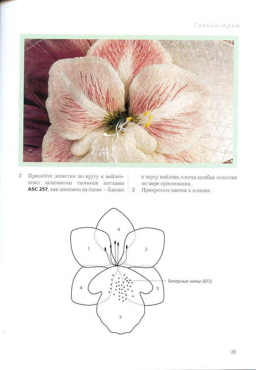Объемная вышивка пирс х 27