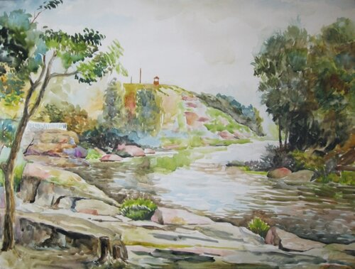 Река Уж. Коростень.