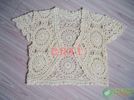 Free Crochet Patterns Summer Bolero : spring and summer crafts: lace bolero free crochet ...