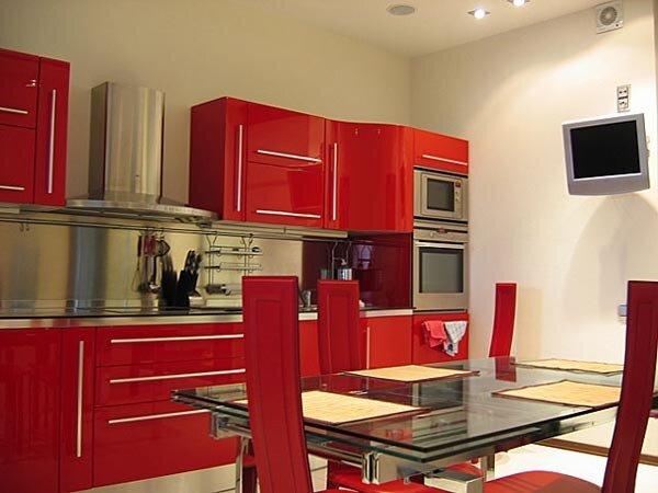Квадратов фото кухня отделка стен