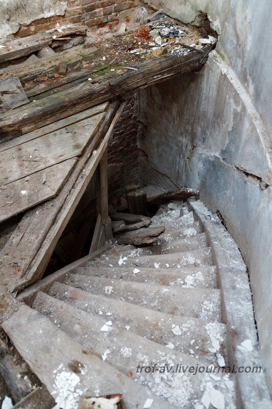 Северный флигель. Усадьба Петровское-Княжищего Демидовых-Мещерских