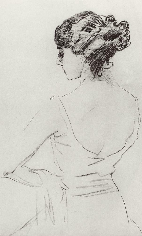 Портрет балерины Т.П.Карсавиной. 1909.jpg