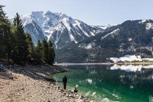 Австрийское озеро Achensee.