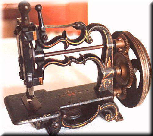 Про швейные машинки, история появления