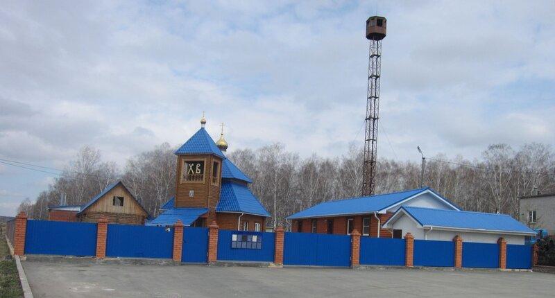 Общий вид шигаевского храма (20.05.2014)