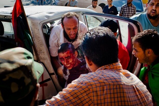 Libyan Rebels Battle Gaddafi Forces For Control Of Tripoli