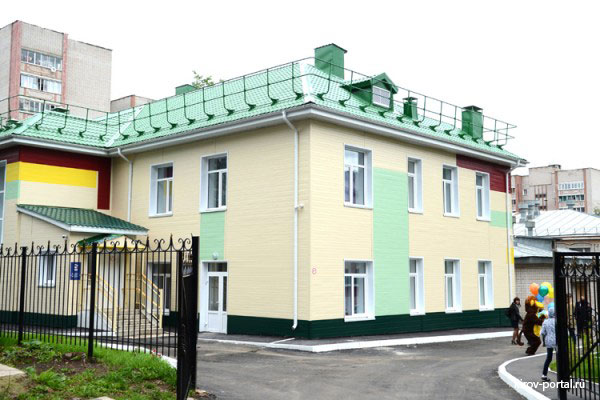 Новый детский сад на ул. МОПРа 82в