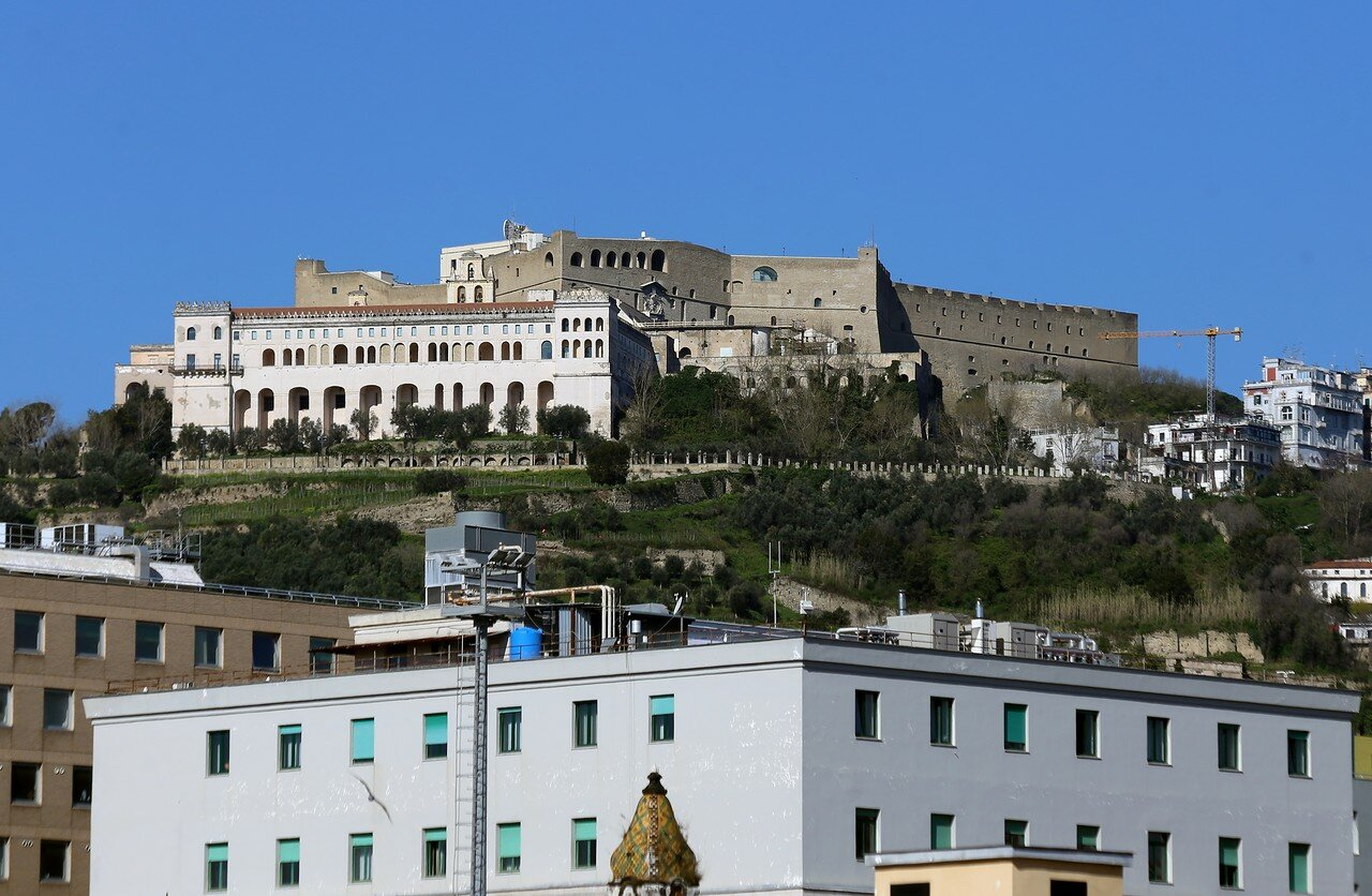 The Castle St Elmo, Naples