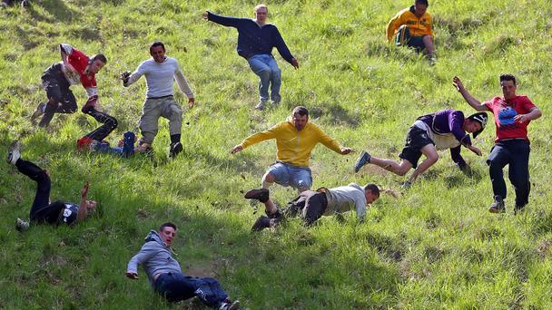 Фестиваль сырных гонок