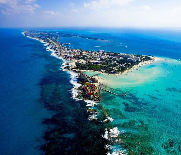 7. Плайя-Норте, Исла-Мухерес («Остров женщин»), Мексика . Лучшее время для посещения: с июня по сент