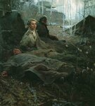 Дыхание весны (худ. Б. Неменский, 1955)