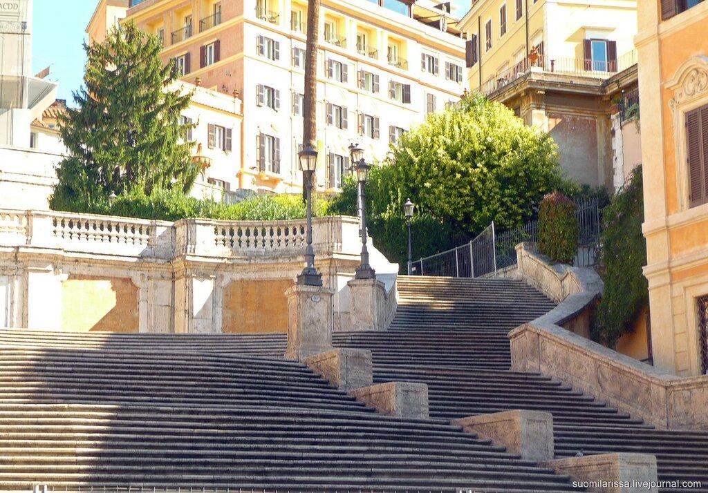 Испанская лестница.